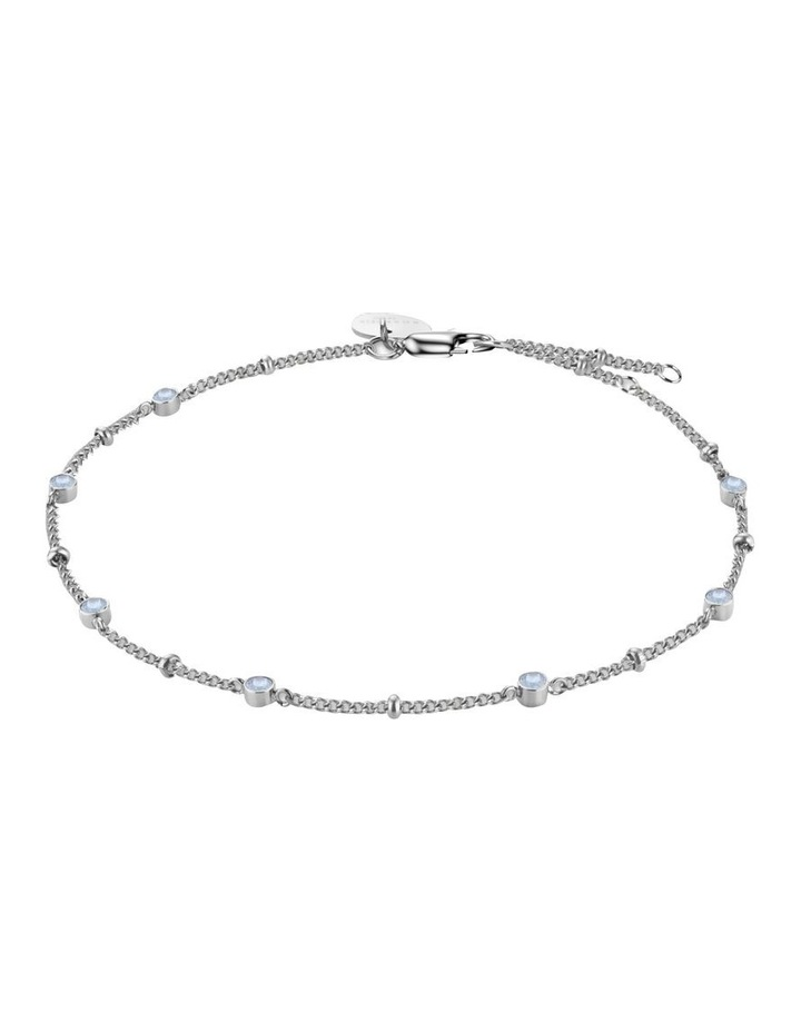JBSCS-J261 Raye Crystal Bracelet - Silver image 1