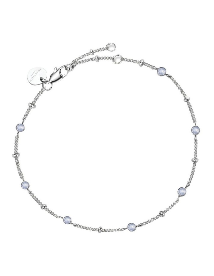 JBSCS-J261 Raye Crystal Bracelet - Silver image 2