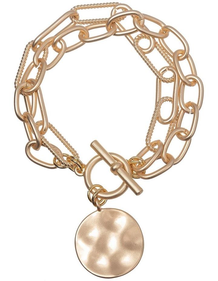 Brushed Gold Bracelet image 1