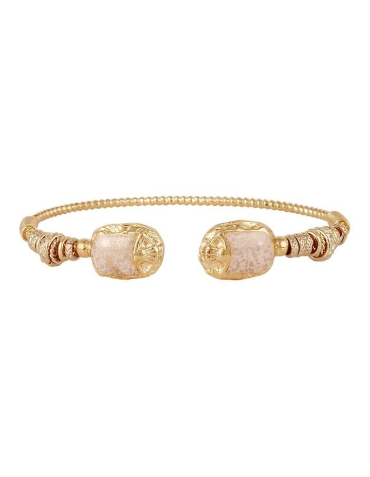 Duality Torsca 24k Gold Plated Brass Bracelet image 1