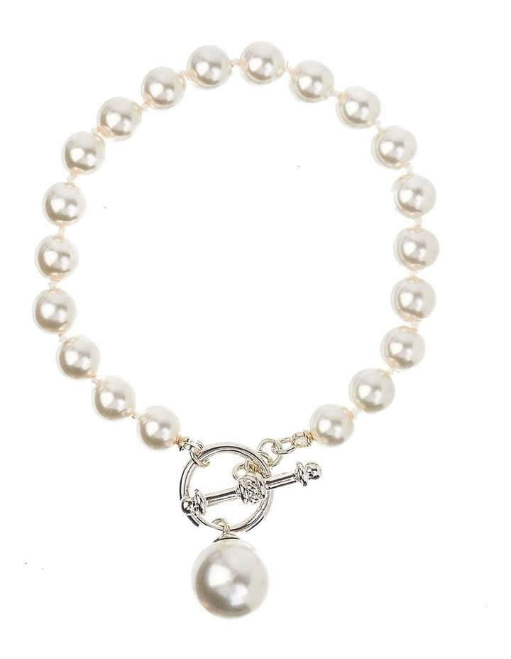 Pearl Gold Bracelet image 1