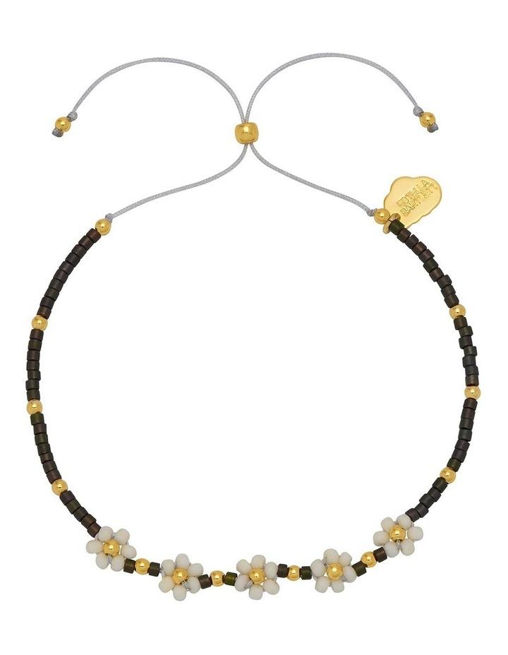 Miyuki Daisy Chain Midnight Bracelet image 1