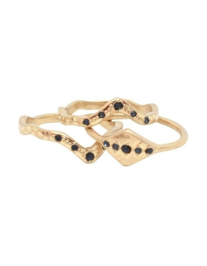 Ana Crystal Ring Set image 2
