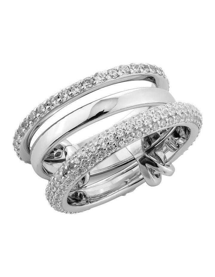 Cyclic 925 Silver Ring image 1