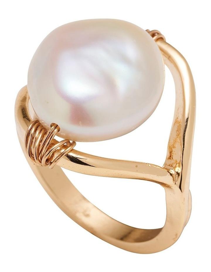 Organic Pearl Ring image 1