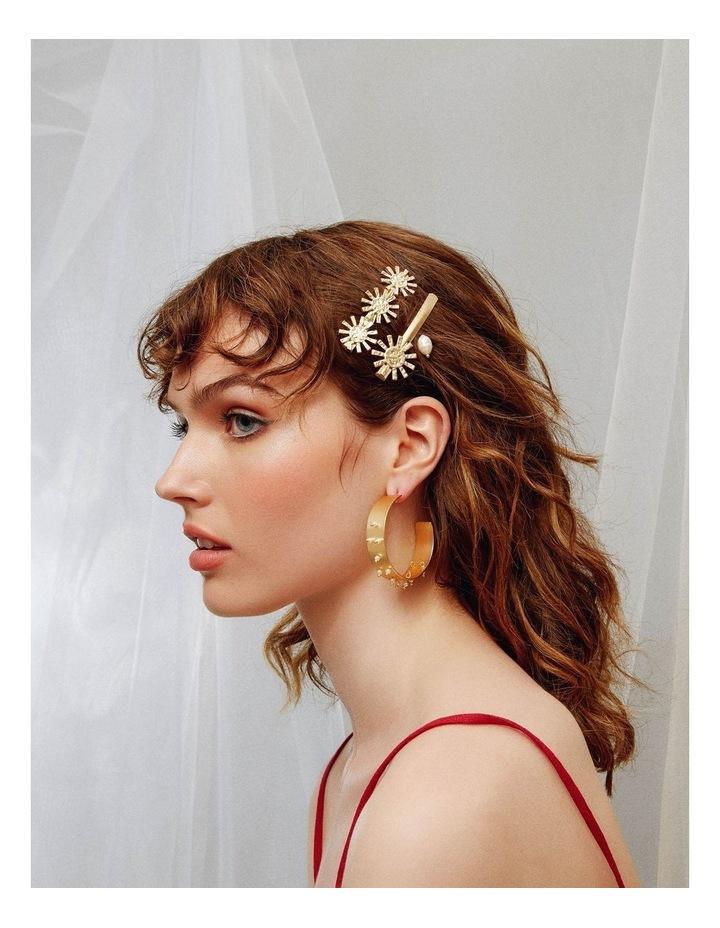 Girasole Hair Clip Set image 2