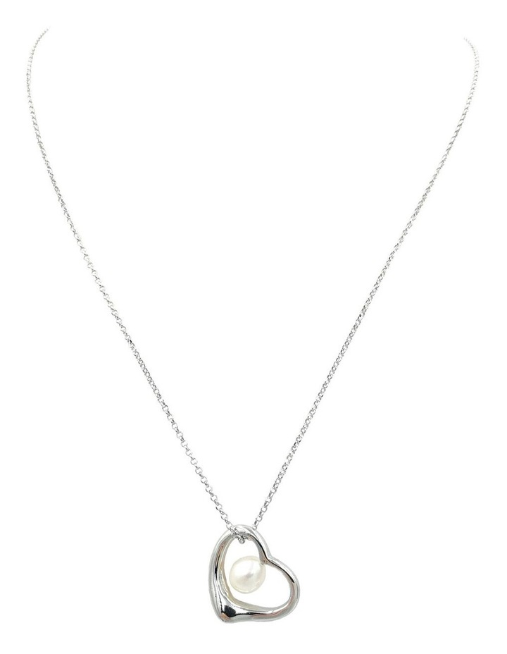 """""""With Love"""" Open Heart Pendant image 1"""