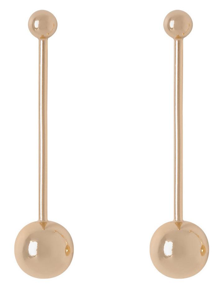 Ball Stick Earrings image 1
