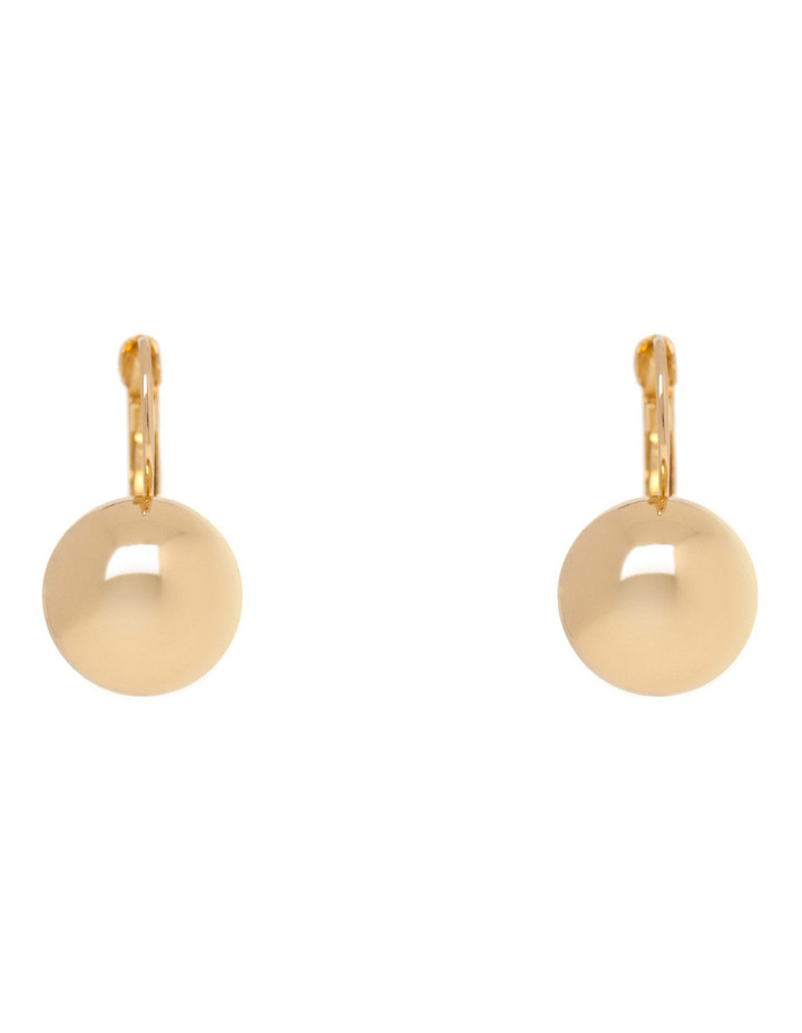 WCGES17ER27 Metal Ball French Wire Earring image 1