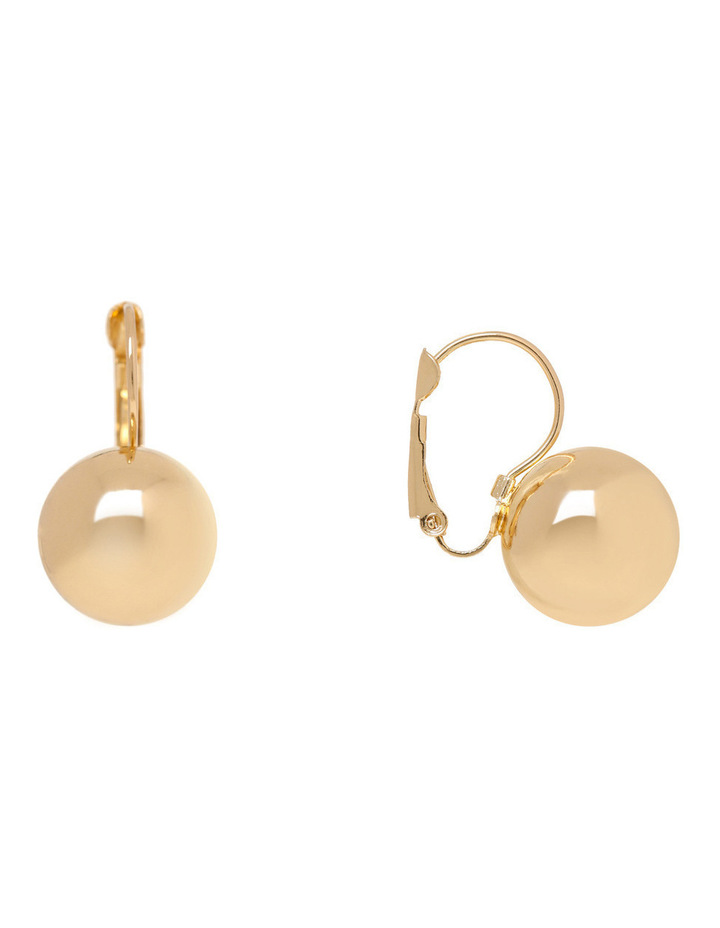 WCGES17ER27 Metal Ball French Wire Earring image 2