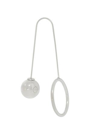 Wayne Cooper - WCGES18ER94R Long Front Back Ring Ball Earring