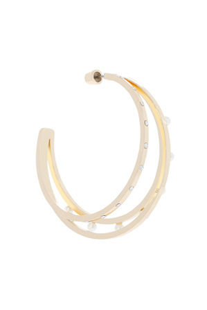 Wayne Cooper - WCJHS18ER111 3 Wire Hoop Earring