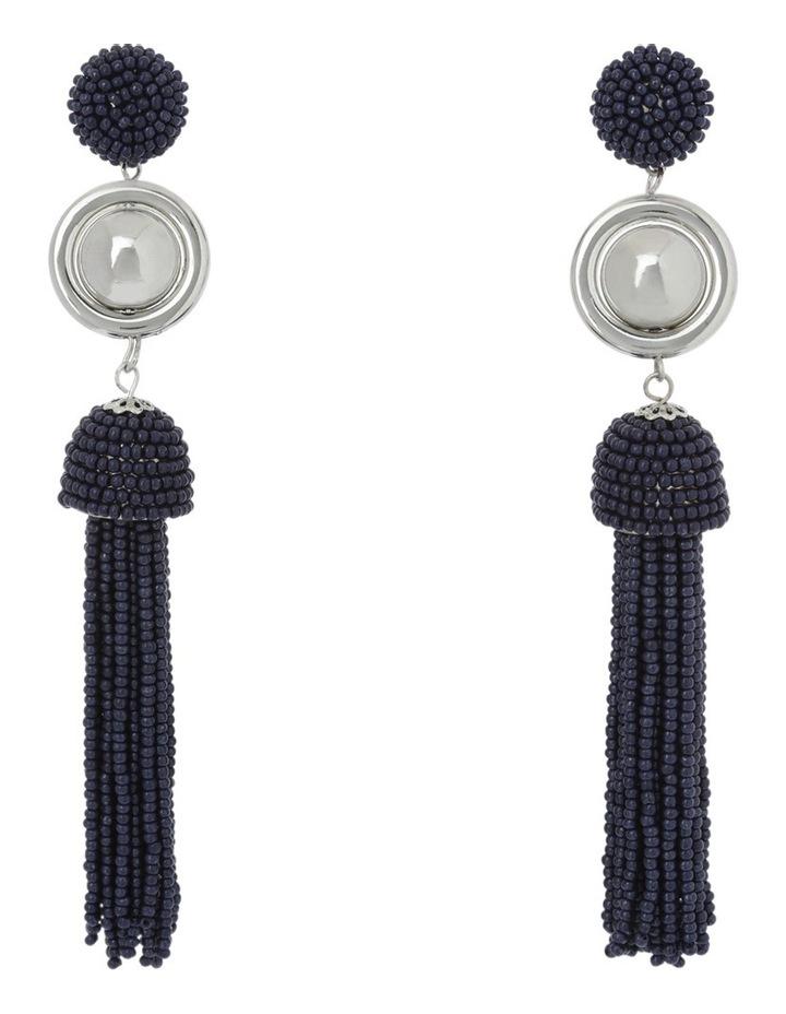Luxe Statement Tassel Earring image 1