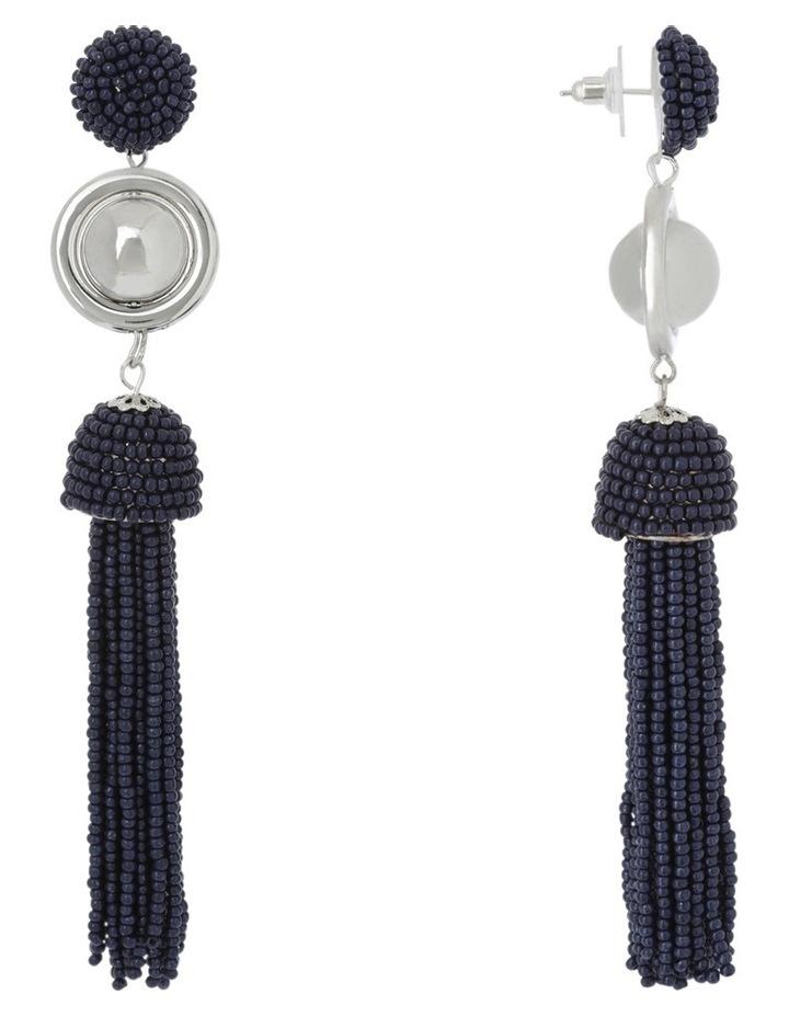 Luxe Statement Tassel Earring image 2