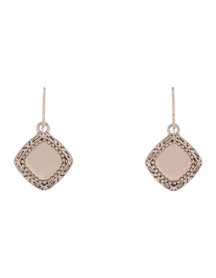 Boho Charm Mini Drop Earring Rose gold image 1