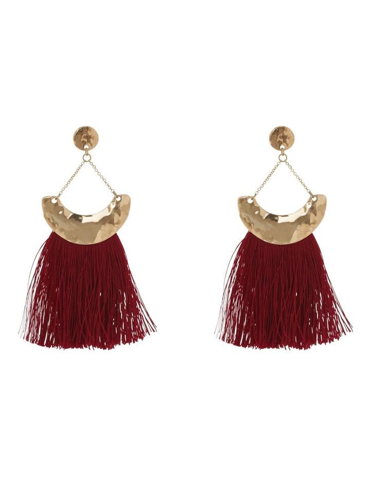 Gypsy tassel earring image 1