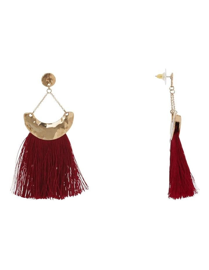Gypsy tassel earring image 2