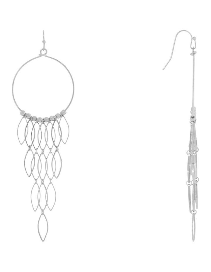 Modernist Cascade Drop Earring image 2