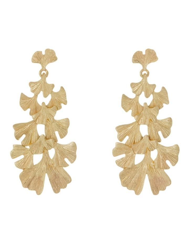Botanica Leaf Drop Statement Earrings image 1