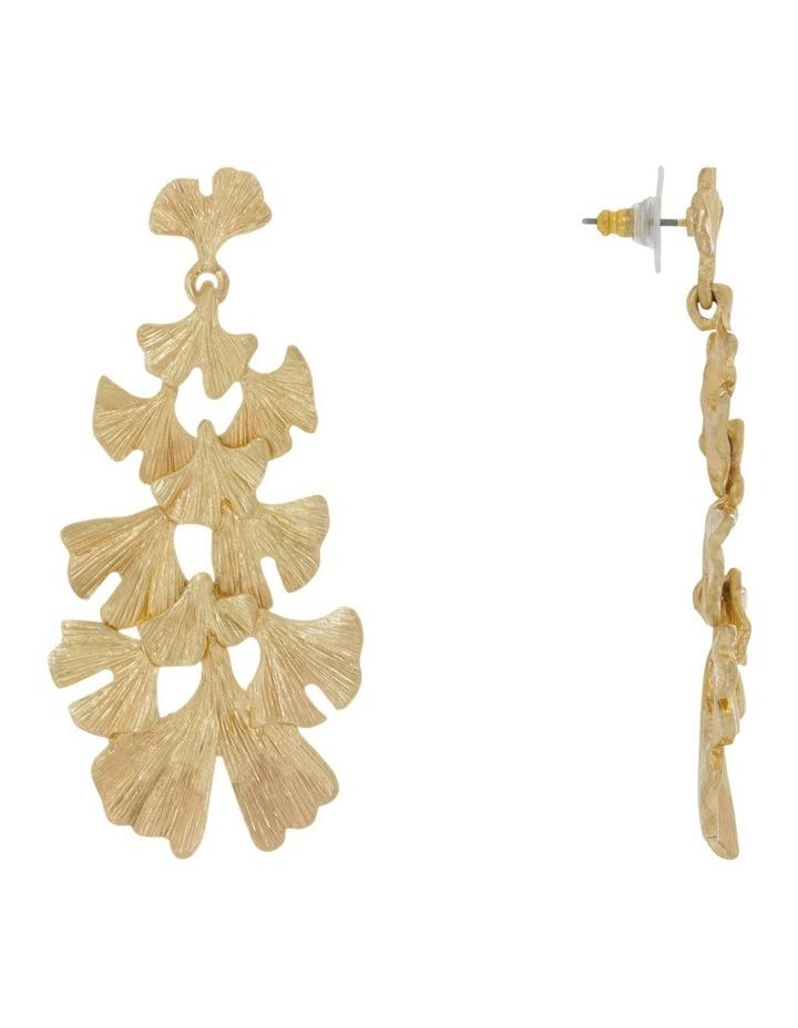 Botanica Leaf Drop Statement Earrings image 2