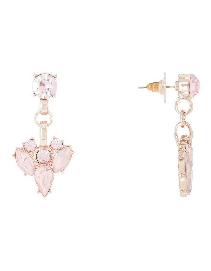 Statement Crystal Earring Blush Opal image 2