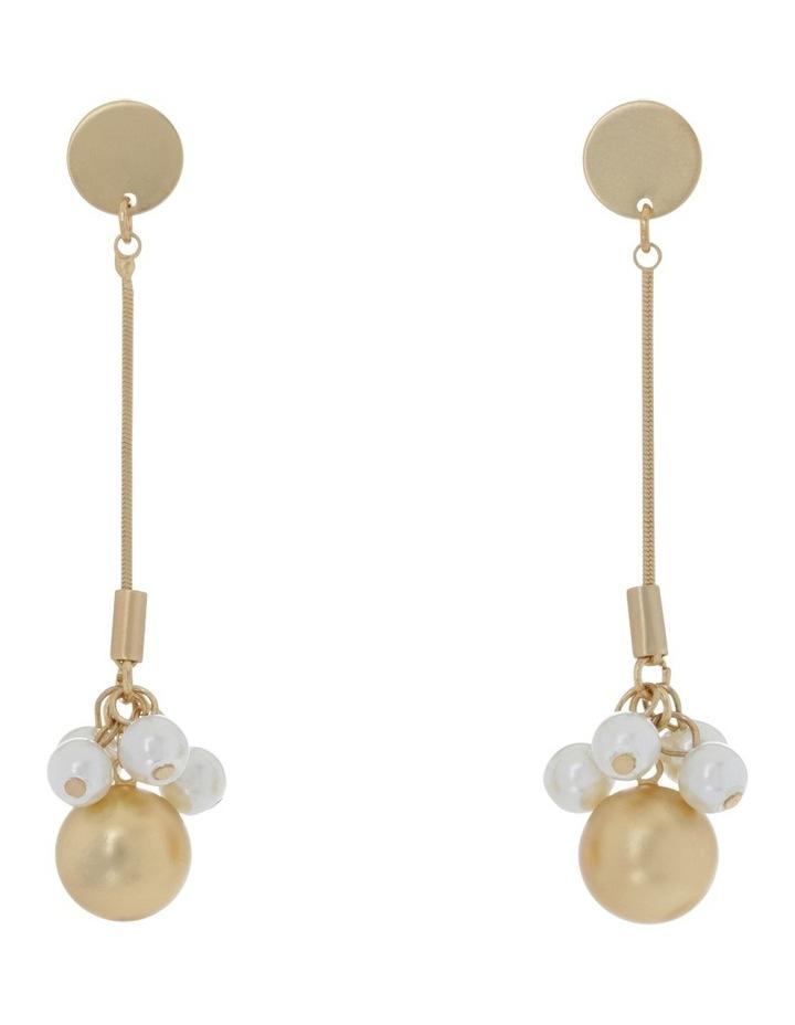 Mini Pearl Cluster Drop image 1