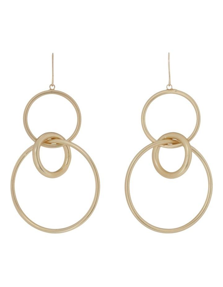 Multi Hoop Hook Earring image 1