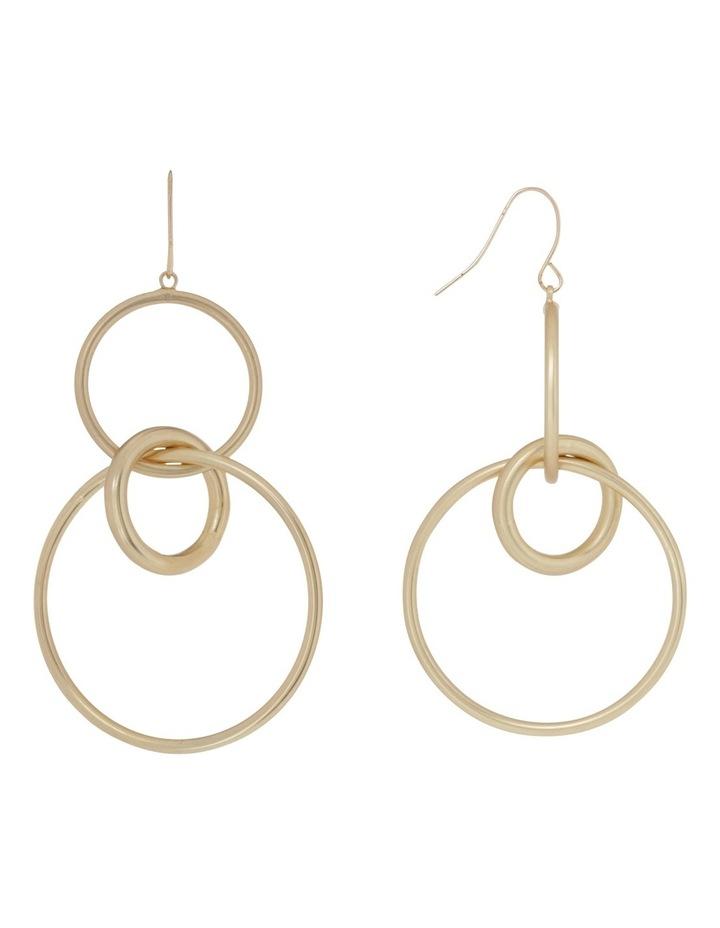 Multi Hoop Hook Earring image 2
