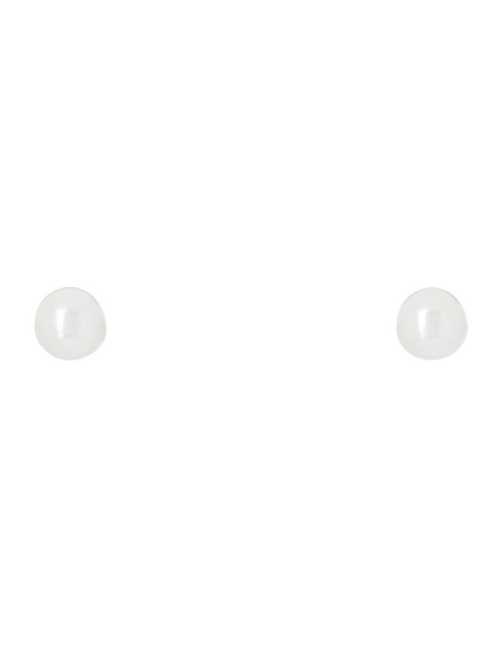 Classic Pearl Stud Small image 1