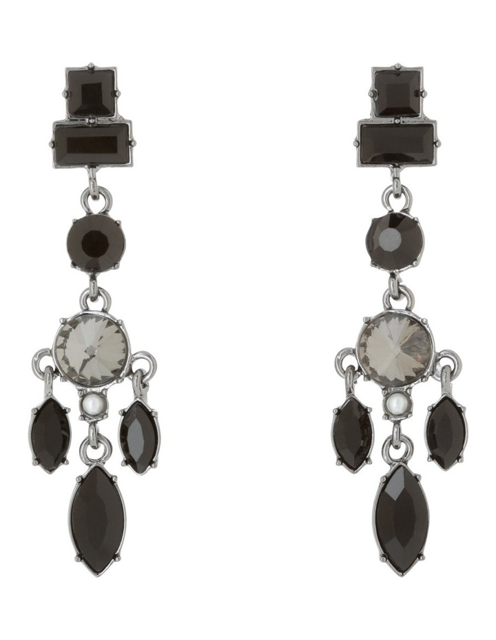 Crystal Charm Drop Earring image 1