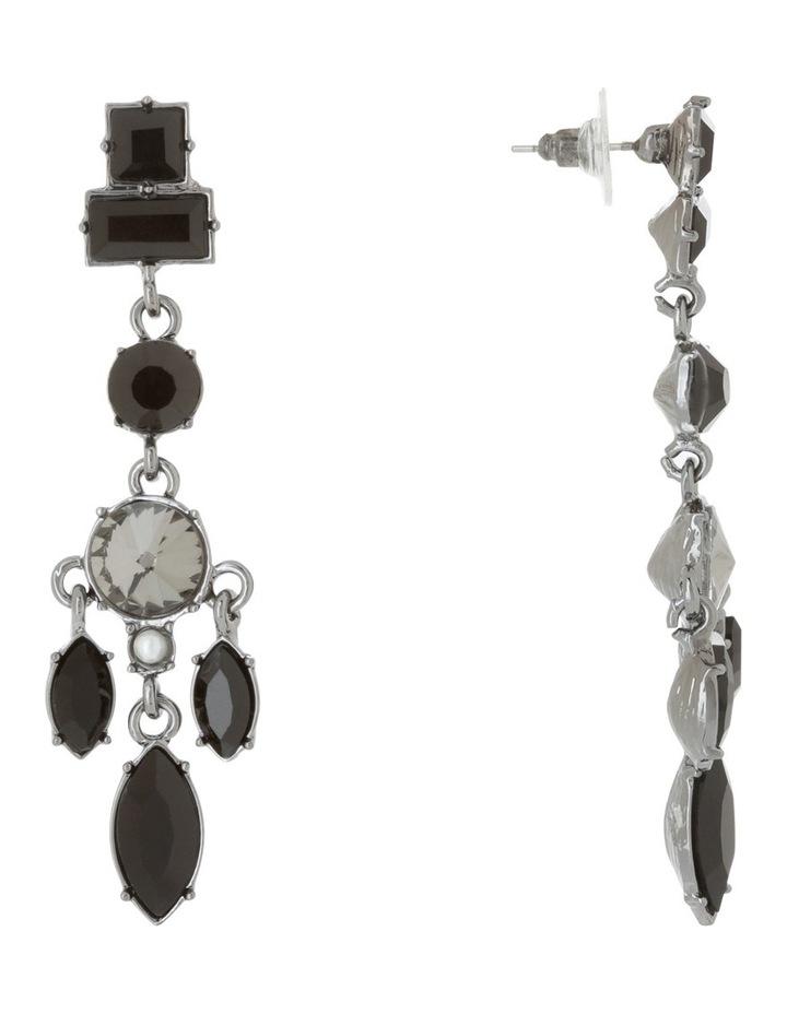Crystal Charm Drop Earring image 2