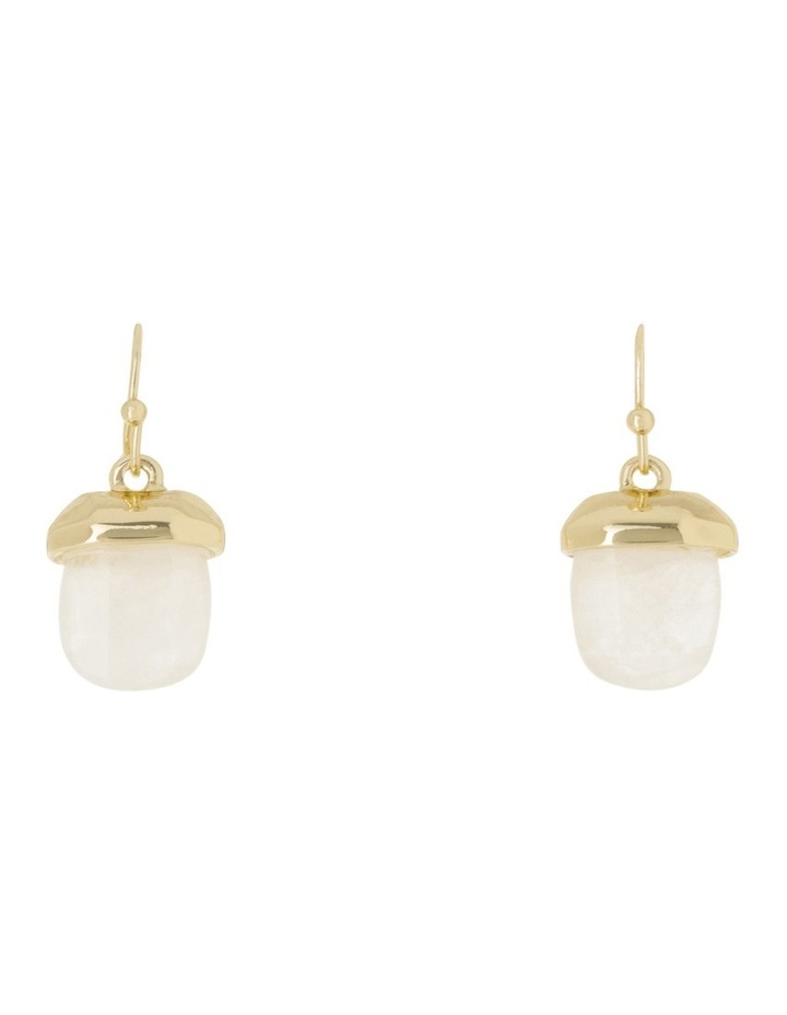 Square Crystal Drop Earring image 1