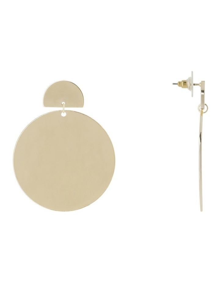 Harper Disc Earring image 2