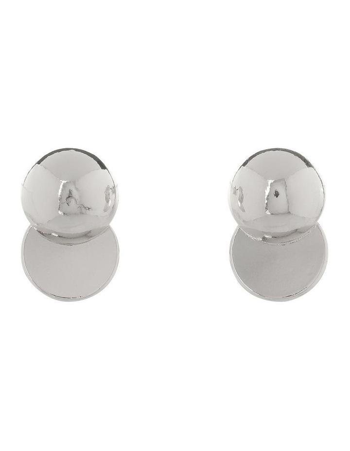 Ball Stud Earring Silver image 1