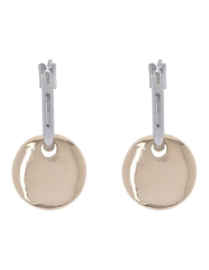 Mini Disc Drop Earring image 1