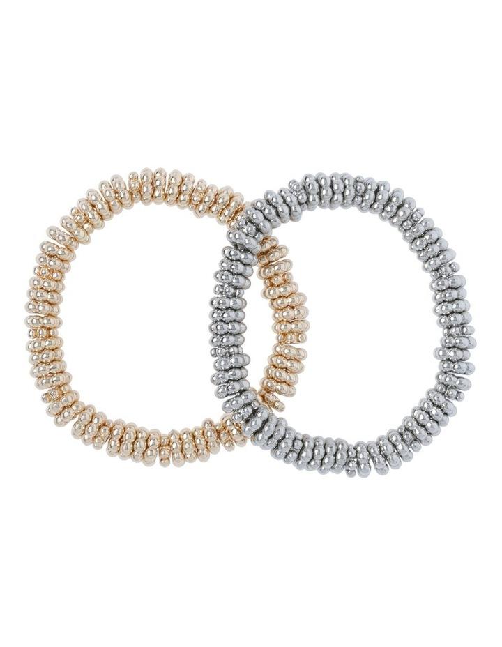 Mesh Twist Double Stretch Bracelet image 1
