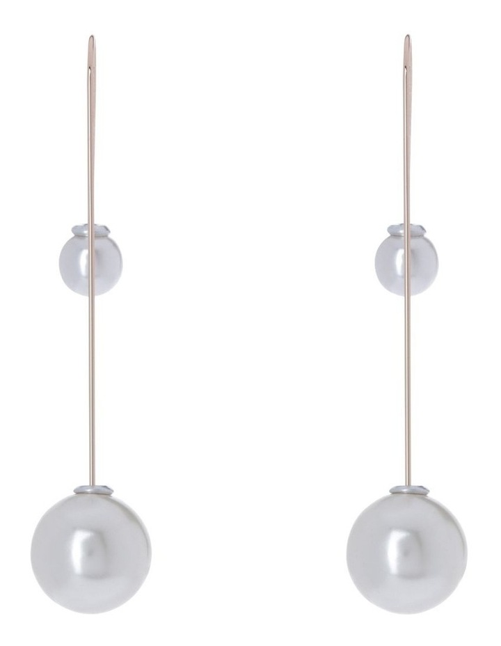 Srie Drop Pearl Earring Ivory image 1