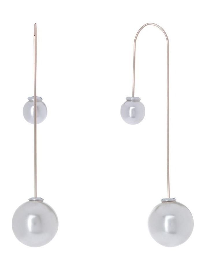 Srie Drop Pearl Earring Ivory image 2