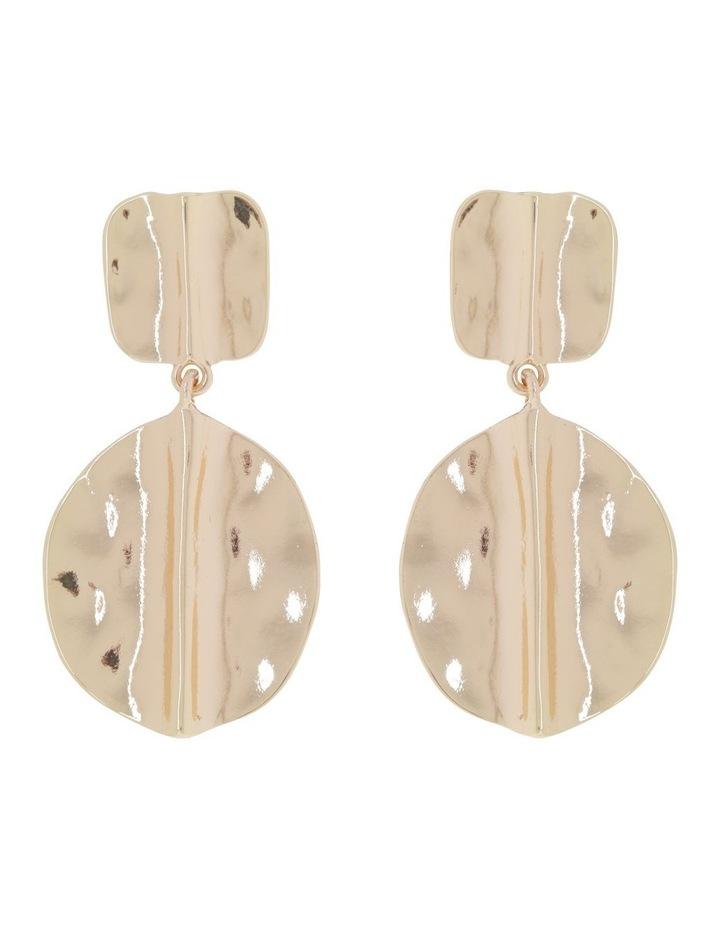 Antique Metallic Drop Earring image 1