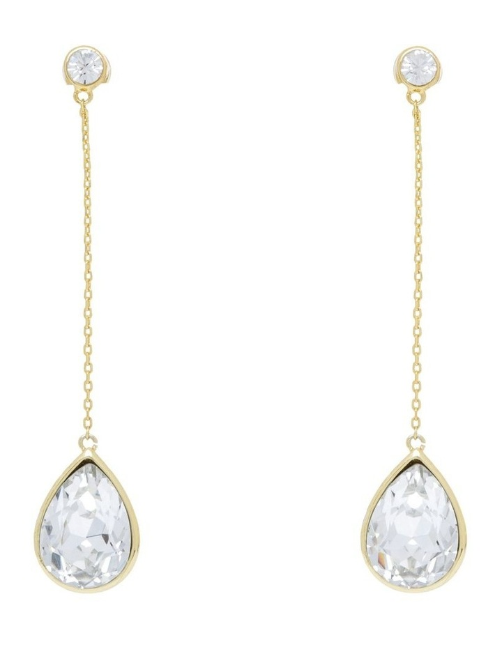 Crystal Chain Drop Earring image 1
