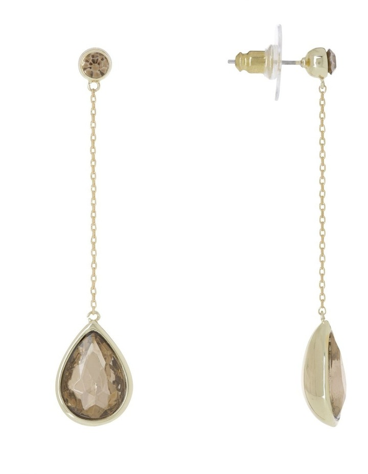 Crystal Chain Drop Earring image 2