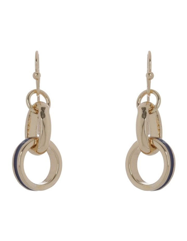 Circular Drop Hook Earring image 1