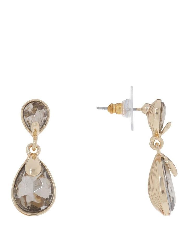 Crystal Teardrop Earring image 2