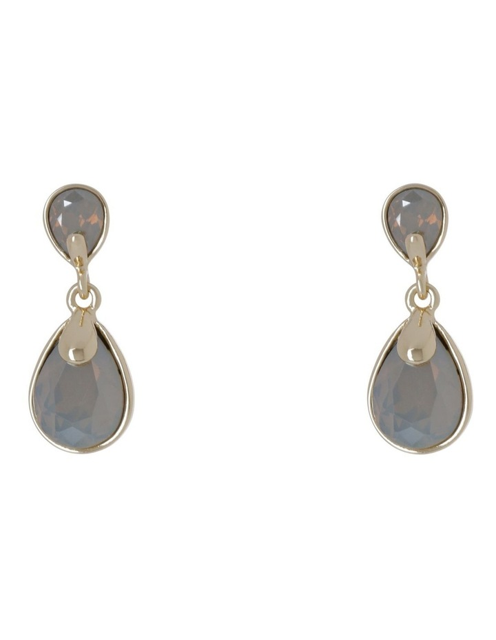 Crystal Teardrop Earring image 1