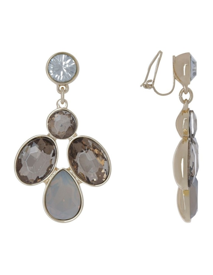 Crystal Statement Earring image 2