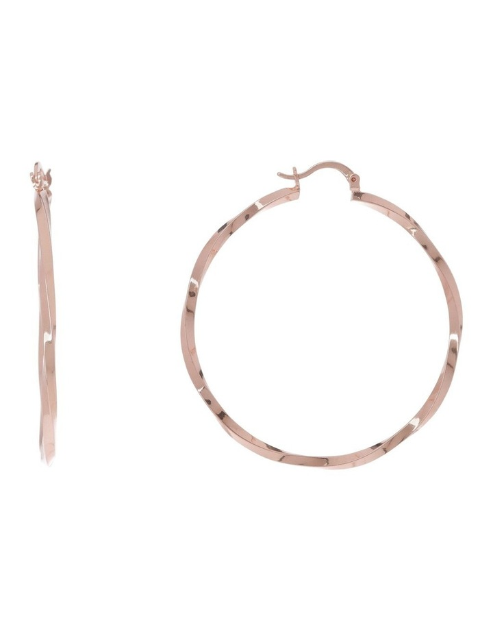 Mia Twisted Hoop image 1