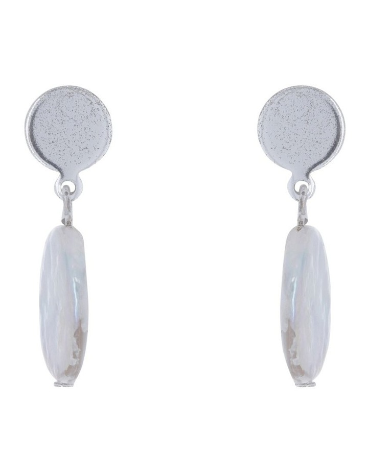 Abstract Shape Drop Earring image 1