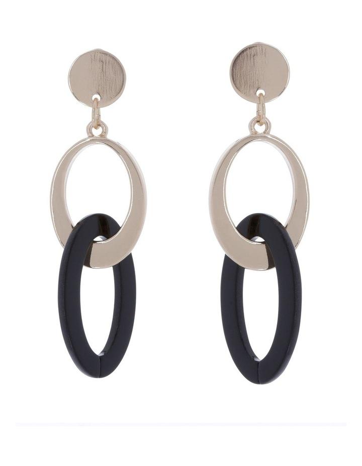 Chain Link Drop Earring image 1