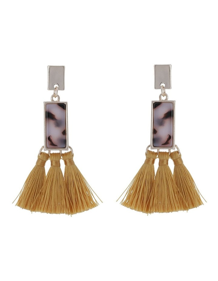 Billie Inlay Earrings image 1