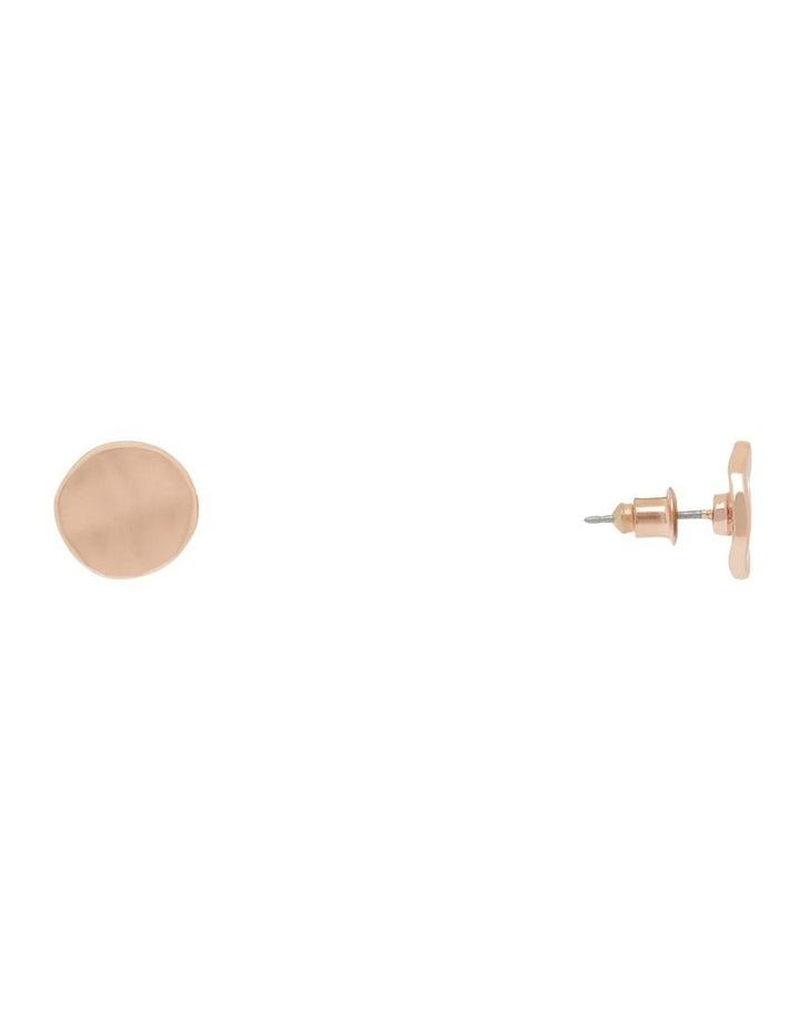 Ripple Stud Earring image 2